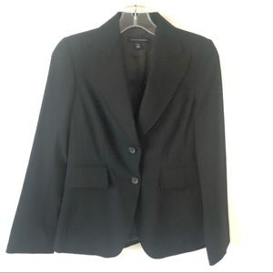 Banana Republic 2 Button Black Blazer - 0